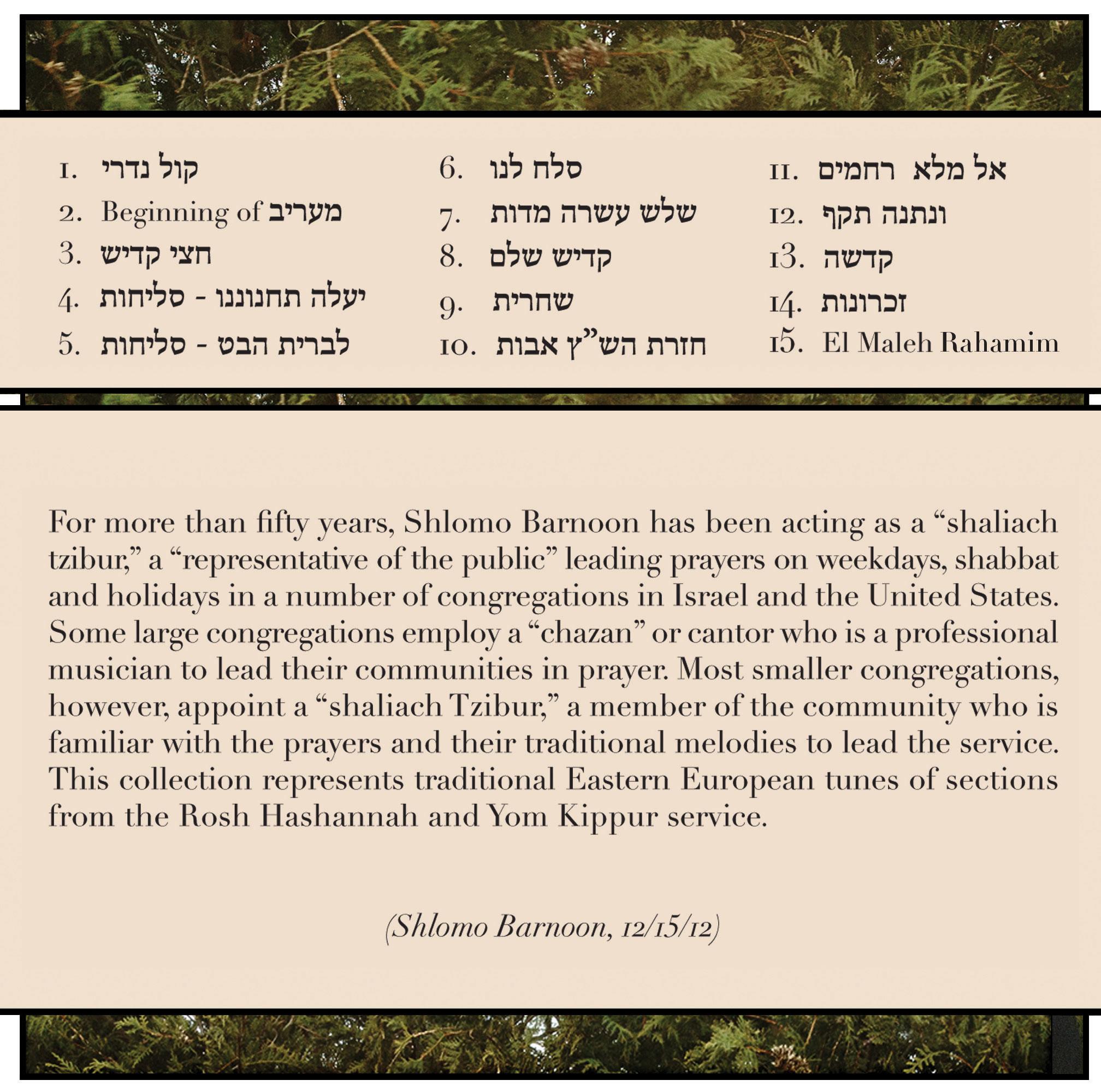 Abraham Ravett - Audio CDs - Jewish Liturgical Music: Shlomo